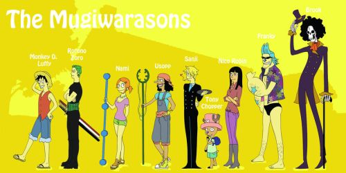 The Mugiwarasons by LadyDeadPooly