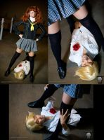 Teddie Likes Dem Upskirts by the-sushi-monster