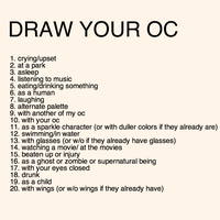 draw your oc challenge by SHOUTMILO