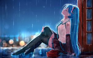 Rain by ShiroKujaku