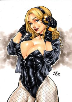 Black Canary by Fredbenes