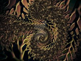 Fractal Trees and Spirals by rahulmukerji