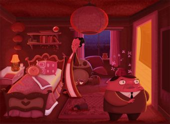 The Red Room by 2DCale