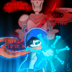 Undertale - *he believed in you..! by Phione538