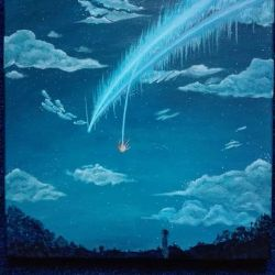 Your Name Inspired Painting by AndraHP