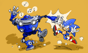 Dancing Robot Unleashed by gsilverfish
