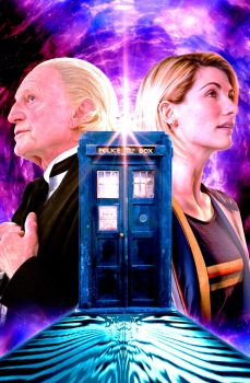 Fifty-Five Years In The TARDIS by Cotterill23