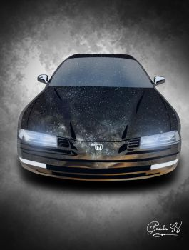 Honda Prelude Sky Reflection by daftdance
