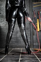Heels and Bullwhip by Ange1ica