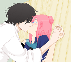 .:Forced Kiss:. [Entered] by Allyza-Awesome123