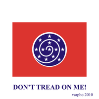 Dont Tread On Me flag by varpho