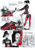 Red marquise Vs Kirate the assassin 06 by yacermino
