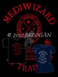 Mediwizard-Mediwitch in Training - Tee Design by Breogan