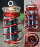 uber tiny wrapped bottle by designsbymishi