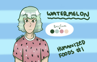 Humanized Foods #1 by ArtsySwag