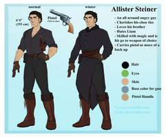 Allister refined reference by Lozey
