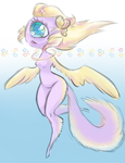 [CLOSED] Winged Cyclops Alien Adopt by CloverWing