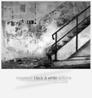 NoiseLess Black And White by Noise-Less