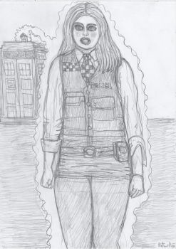Amy Pond's bimbo makeover 1 by yerbouti