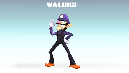 Waluigi Gets what he WAHS for!!! by SCP-096-2