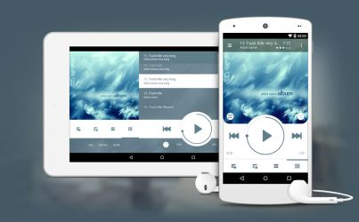 NRG Player for tablets by slaveoffear