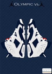 Jordan Olympic 6s by LazyN