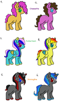 Shipping Foals {10 points} by DaydreamAdopts