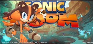 Sonic Boom - Sticks The Badger by Knuxy7789