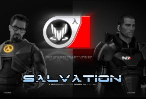 Salvation Fan Fiction Poster by EspionageDB7