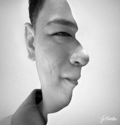 Face Illusion by CorpaxHunter