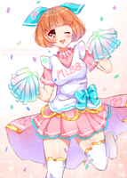 Mobile Legends: Cheerleader Angela by bunbby