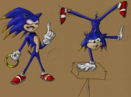 Pseudo Sonic concept by Torcher999