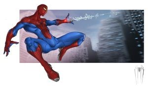 The Amazing Spider-man by Patrick-Hennings