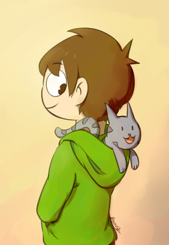 edd and ringo by 4000z