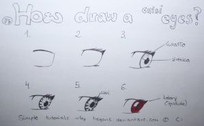 How draw a chibi eyes? by Tiegan5