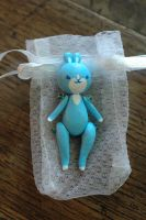 Little doll: Blue Bunny by honeymil
