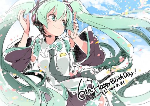 6th MIKU !! by U35