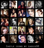 Castle icons by cassie93