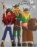 The Lost Vikings by TheSylverLining