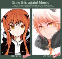 Meme  Before And After By Otakumi by OtakumiArt