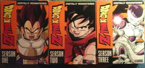 Dragonball Z Seasons 1, 2 and 3 by JQroxks21