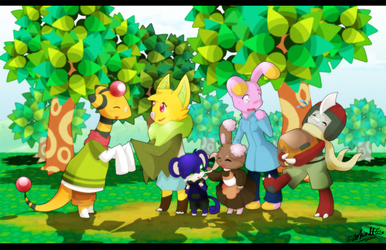 PKMNC - So Nice to Meet You All by TamarinFrog