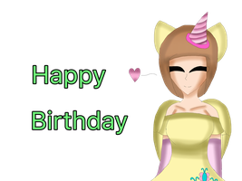 Happy Birthday by Maggie-The-Inkling