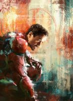 Iron Man by WisesnailArt