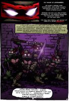 TMNT Vol 1 No 1 pg1 remastered by wheretheresawil