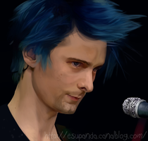 Matt Bellamy by Shu-Silver