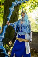 Ashe the Frost Archer by darkagesun
