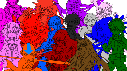 BlazBlue Cross Tag a New Fate Possiblities by MacMar02
