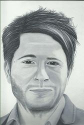 Celebrity Portrait: Owl City (Adam Young) by AmericanBlackSerpent