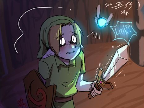 Scared Link by Nevalone